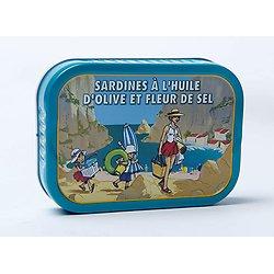LA BONNE MER - Sardines à l'Huile d'Olive et Fleur de Sel