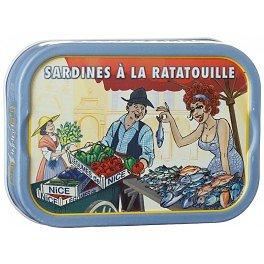 LA BONNE MER - Sardines à la Ratatouille