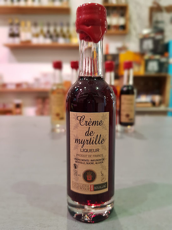 DISTILLERIE LOUIS ROQUE - Crème de Myrtille