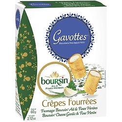 GAVOTTES - Crêpes Fourrées Boursin