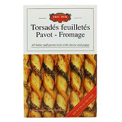 ERIC BUR - Torsadés Feuilletés - Pavot/Fromage