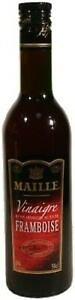 MAILLE - Vinaigre de Vin Rouge et Framboise