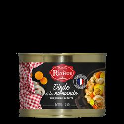 MAISON RIVIÈRE - Dinde à la Normande aux Pommes de Terre