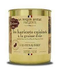 LA MAISON RIVIÈRE - Haricots Cuisinés à la Graisse d'Oie.