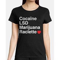 Tee-Shirt Femme - Raclette