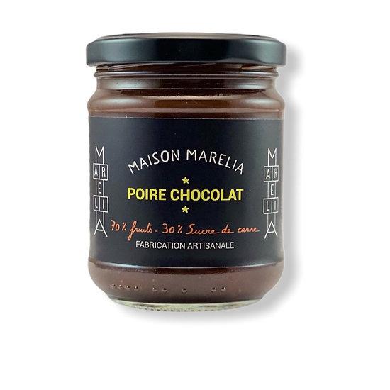 MAISON MARELIA - Confiture Poire au Chocolat