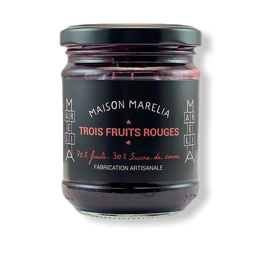 MAISON MARELIA - Confiture Trois Fruits Rouges