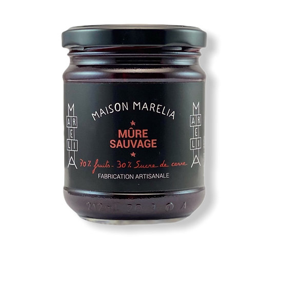 MAISON MARELIA - Confiture Mûre Sauvage