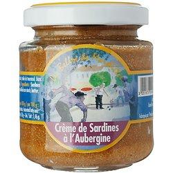 LES BELLES DE MARSEILLE - Crème de Sardines à l'Aubergine