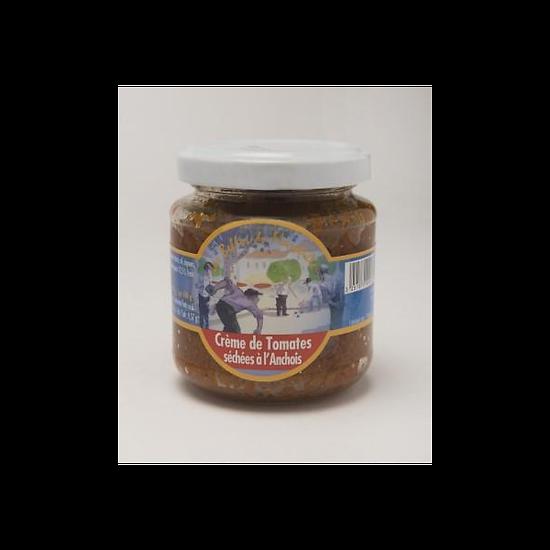LES BELLES DE MARSEILLE  - Crème de Tomates Séchées à l'Anchois