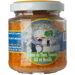 LES BELLES DE MARSEILLE  - Crème de Thon, Tomate, Ail et Basilic