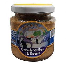 LES BELLES DE MARSEILLE  - Crème de Sardines à la Brousse