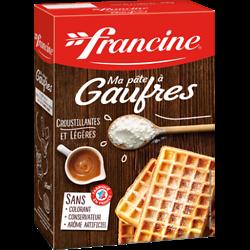 FRANCINE - Ma pâte à Gaufres