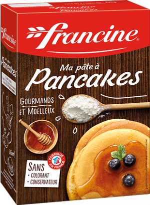 FRANCINE - Ma pâte à Pancakes