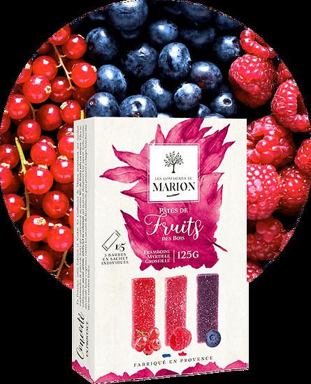 LES CONFISERIES DE MARION - Pâtes de Fruits des Bois