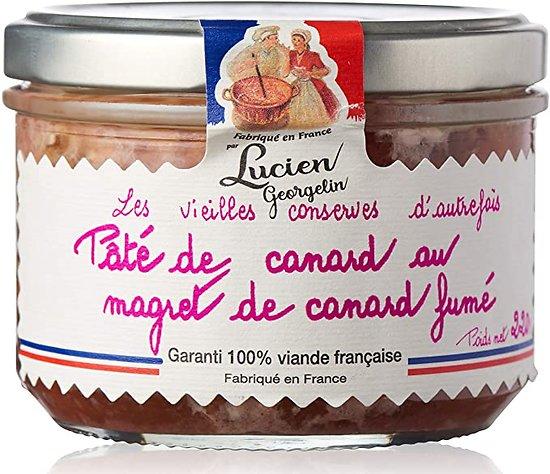 LUCIEN GEORGELIN - Pâté de Canard - Magret de Canard fumé