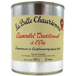 LA BELLE CHAURIENNE - Cassoulet Traditionel à l'Oie