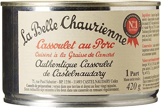 LA BELLE CHAURIENNE - Cassoulet au Porc
