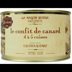 LAMAISON RIVIÈRE - Le Confit de Canard 4 à 5 Cuisses