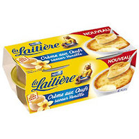 LA LAITIERE - Crèmes aux oeufs Vanille