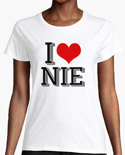 Tee-Shirt Femme - I LOVE NIE