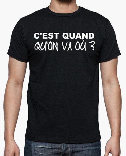 Tee-Shirt Homme - C'est Quand?