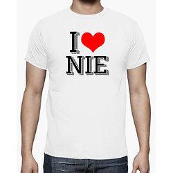Tee-Shirt Homme - I LOVE NIE