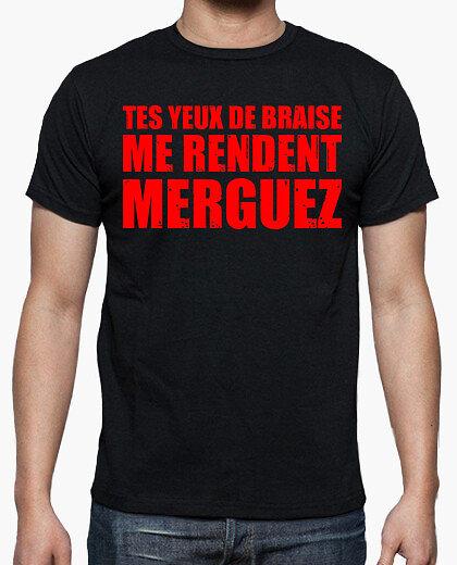 Tee-Shirt Homme - Tes Yeux de Braise
