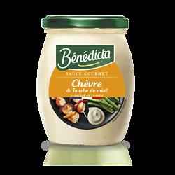 BENEDICTA - Sauce Gourmet - Chèvre & Touche de Miel