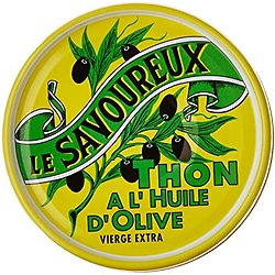 LE SAVOUREUX - Thon Entier à l'Huile d'Olives