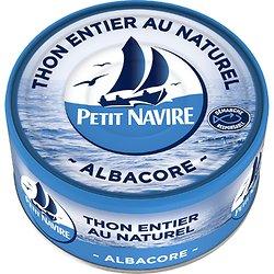 PETIT NAVIRE - Thon Entier au Naturel