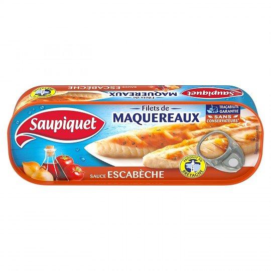 SAUPIQUET - Filets de Maqueraux - Sauce Escabèche