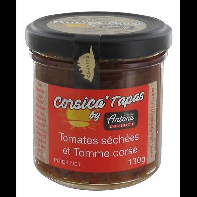 CHARLES ANTONA - Corsica' Tapas - Tomates Séchées / Tomme Corse