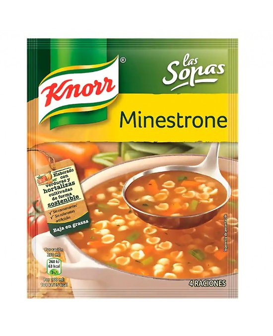 KNORR - Minestrone à l'Huile d'Olive