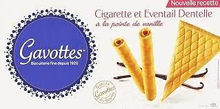 GAVOTTES - Cigarette et Éventail Dentelle