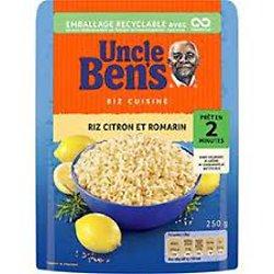 UNCLE BEN'S - Riz Aromatisé au Citron et Romarin