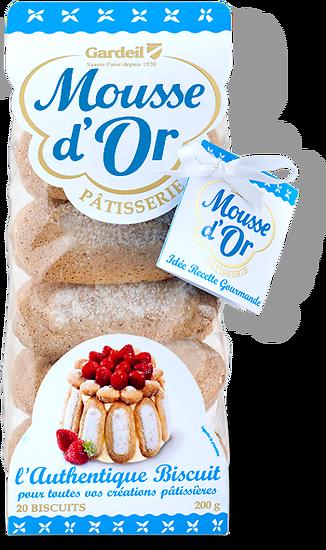 MOUSSE d'OR - l'Authentique Biscuit