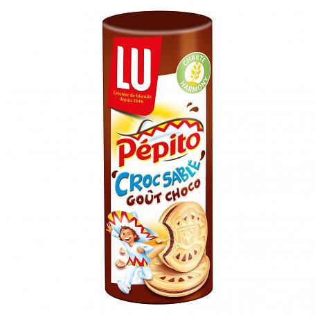 LU - Pépito - Croc Sablé Goût Choco