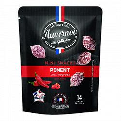 AUVERNOU - Mini Snacks - Piment - sans arômes