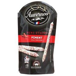 AUVERNOU - Mini Sticks - Piment - sans arômes