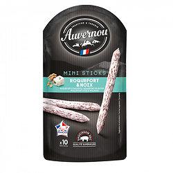AUVERNOU - Mini Sticks - Roquefort AOP & Noix - sans arômes
