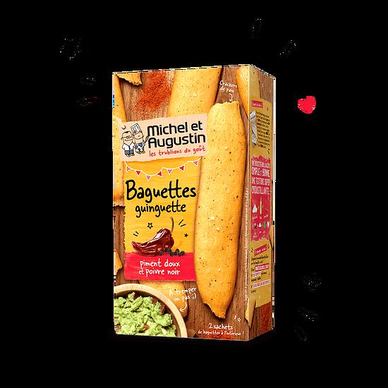 MICHEL AUGUSTIN - Baguettes Guinguette - Piment Doux et poivre Noir