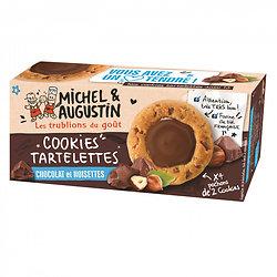 MICHEL AUGUSTIN - Cookies Tartelettes - Chocolat et Noisettes