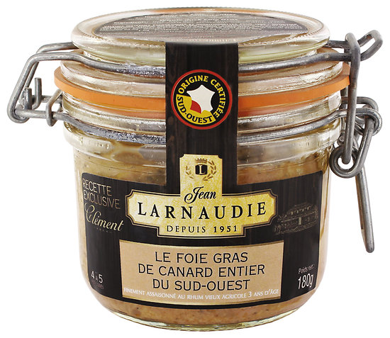 LARNAUDIE - Foie Gras de Canard Entier du Sud-Ouest