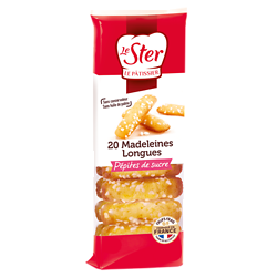 LE STER - Madeleines Longues - Perles de Sucre