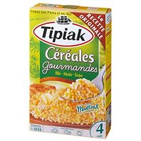 TIPIAK - Céréales gourmandes Blé, maïs, soja