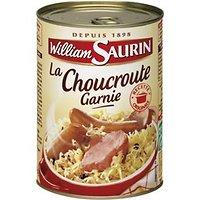 WILLIAM SAURIN - Choucroute garnie cuisinée au vin blanc