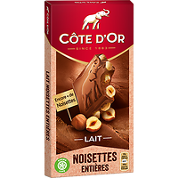 CÔTE D'OR - Lait - Noisettes