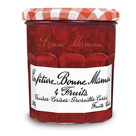 BONNE MAMAN - Confiture -  4 Fruits