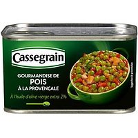 CASSEGRAIN - Gourmandise de Pois à la Provençale - 375g